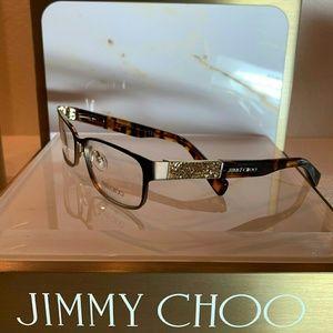 b0b129a8aac3 Jimmy Choo Accessories - Jimmy Choo Eyeglass Frame Style 124